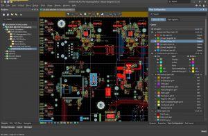 Altium Designer 18 Default User Interface is dark gray.