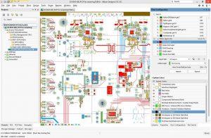 Altium Designer 18 UI Light Gray with White Board Area