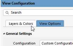 Choose Layers And Colors Tab
